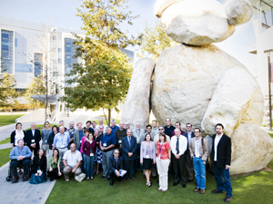 Representatives from 14 international universities and several non-governmental agencies held a recent workshop at UCSD's Calit2 to discuss the future of MedArchNet.