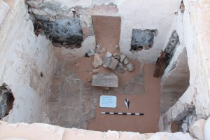 Figure 4:  North Room of the bathhouse in Square D:6/13