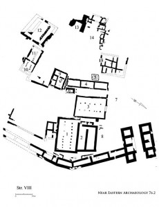 NEA Figure 70: Stratum VIII city plan in Area A, ninth century B.C.E.