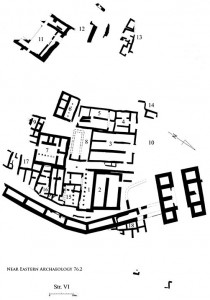 NEA Figure 78: Stratum VI city plan in Area A, eighth century B.C.E.