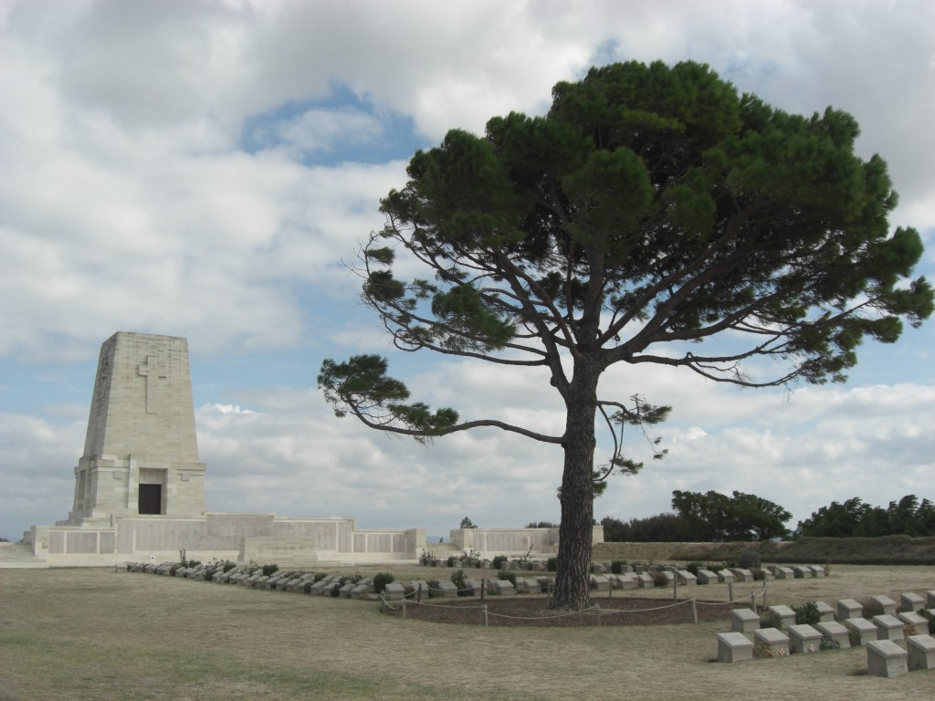 Lone Pine Cemetery. Courtesy Sarah Midford and Jessie Birkett-Rees.