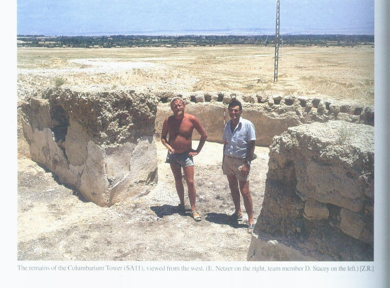 Ehud and David Stacey in Jericho