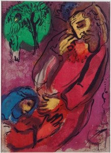 Marc Chagall, David and Absalom, 1956.