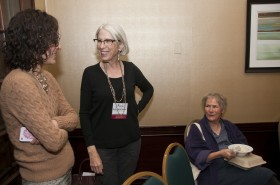 Dr. Beth Alpert Nakhai (center) at the Initiative on the Status of Women Lunch at the 2013 ASOR Annual Meeting.