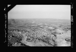 Aerial view of Jerusalem to the south, 1931. Matson Collection, Library of Congress.