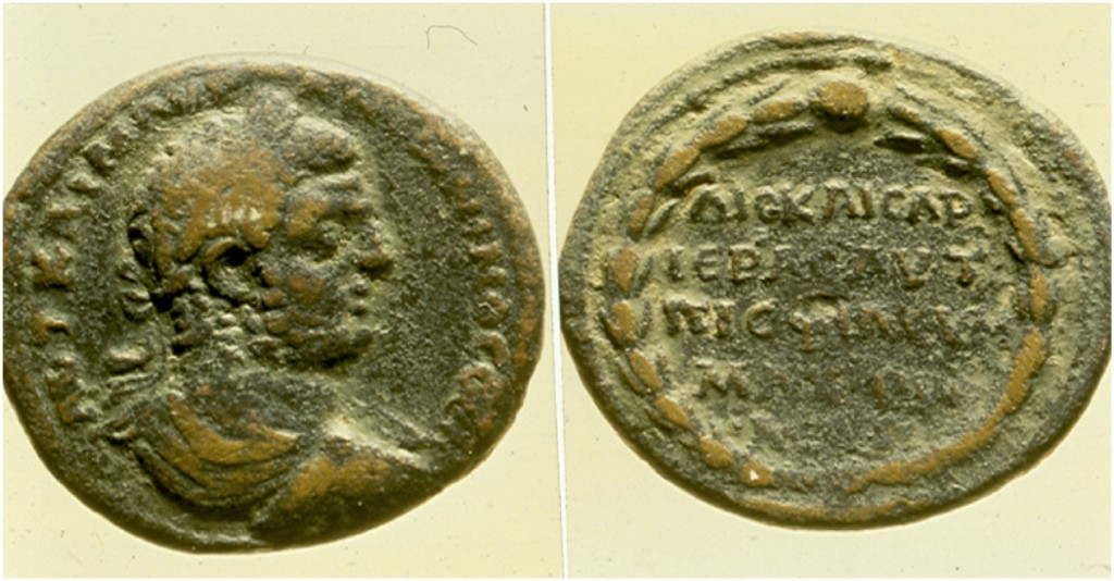 Medallion of Caracalla.