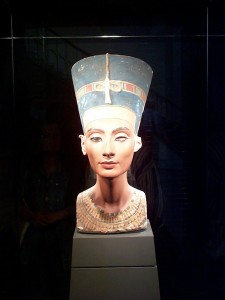 Head of Nefertiti, Egyptian Museum, Berlin