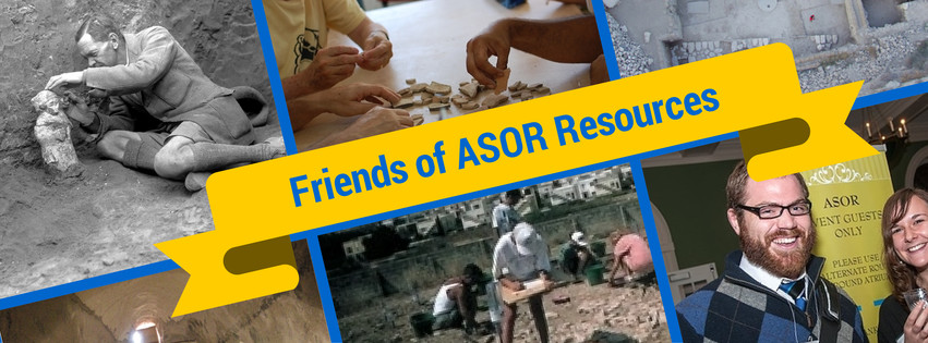 Friends of ASOR Resources (1)