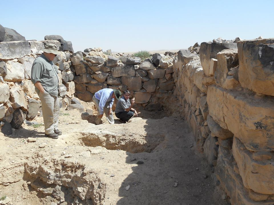 Gate 1 - Gate chamber at the beginning of the excavation.