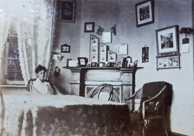 Florence Harding at home in Tientsin. Copyright UCL Institute of Archaeology.