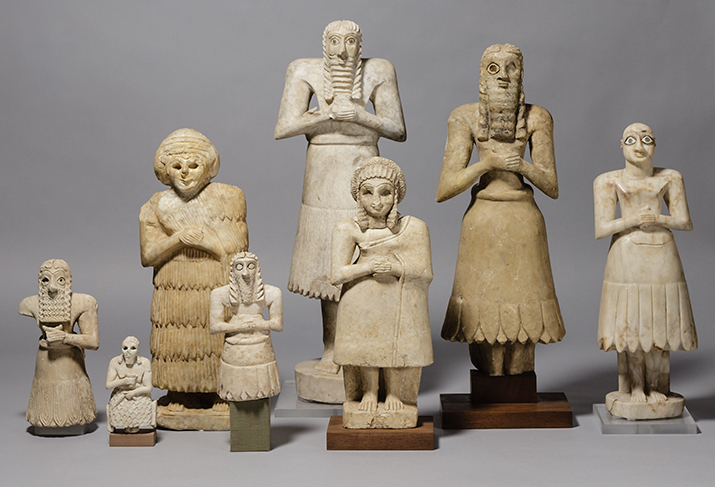 votive figures Depiction of ancient mesopotamian religion  shah 1 'depiction of ancient mesopotamian religion through art and  they are votive figures that.