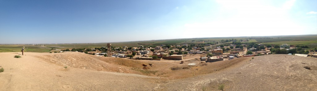 Panoramic view of the Harran plain.
