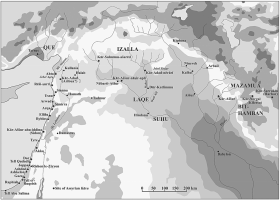 The Fertile Crescent during the Iron Age II. (Map by N. Zeevi)