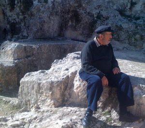 Gabriel Barkay at Ketef Hinnom