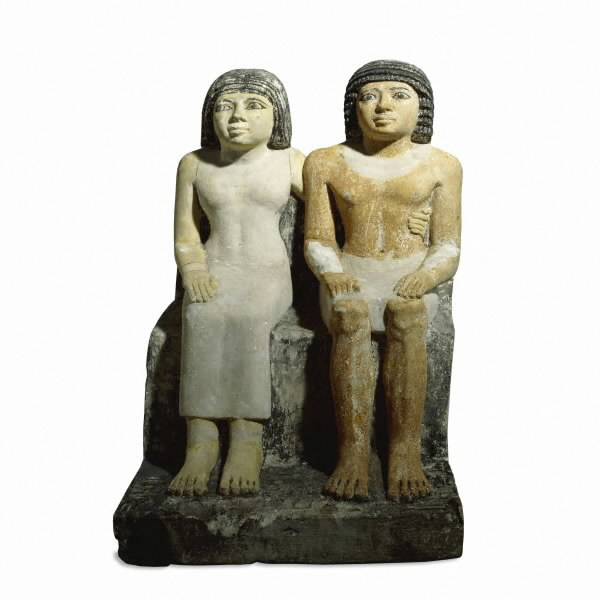 Katep and Hetepheres, possibly from Giza.