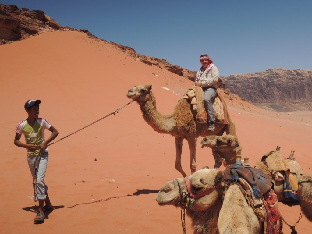 Me on my camel.