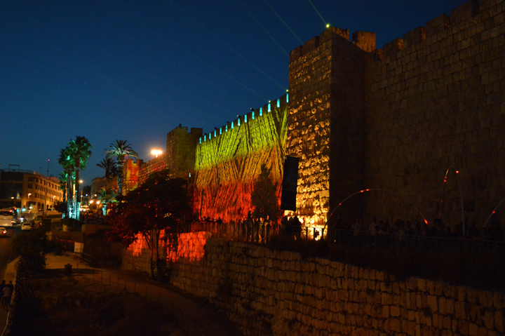 Everyone needs to have a little fun. The Jerusalem Festival of Lights was certainly an interesting experience and an unexpectedly beautiful (if occasionally confusing) way to see the Old City by night. The walls and many monuments were lit up like Christmas trees, or better, like the Disney Castle in Orlando, and music and entertainment fills the streets. It was great!